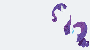 Rarity Minimalistic Wallpaper by Kitana-Coldfire