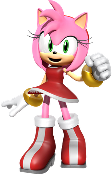 Amy Rose Render by JaysonJean