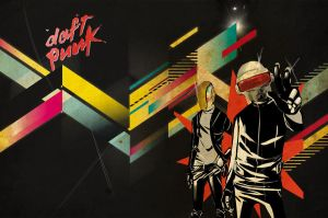 daft punk wallpaper by addixii