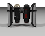 First Order Tie Bomber Bottom by Jesse220