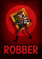 Robber Card by Bladien