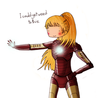 Pepper Potts by ice-cream-skies