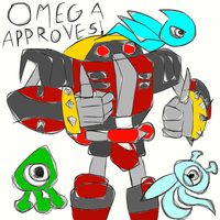 Omega in Sonic Colours? by ARTic-Weather
