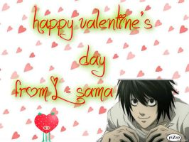 happy V-day from L-sama by miku22