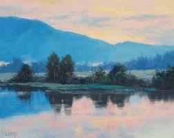 River Dawn by artsaus