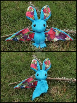 FOR SALE: Berry Fruit Bat by A-chan--Creations