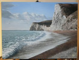 Durdle Door - WIP5 by KaceyM