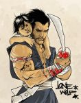 Lone Wolf and Cub by chriscopeland