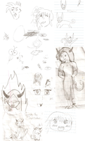 Notebook doodles #2 by Victoria-Firewriath