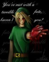 You've met with a terrible fate, haven't you? by NiGHTSgirl666