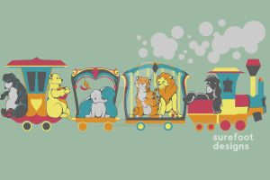 Disney Circus Train by SurefootDesigns