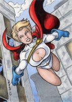 DC: Women of Legend - Powergirl by tonyperna