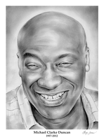 Michael Clarke Duncan -  RIP 1957 - 2012 by gregchapin
