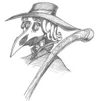 Plague Doctor by Artoveli