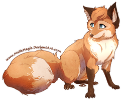 Yuki Lily the Fox by Mallemagic