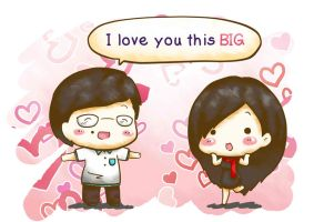 Love You this BIG by isanctz