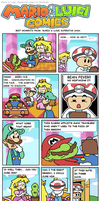 Mario and Luigi Comics: MLSS by Kopejo