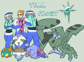 Team Frost challenges youuu by Kiani-Magic