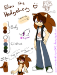 .:Ref:. Elias the Hedgehog by SilverfanNumberONE
