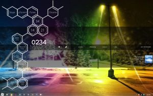 My Desktop - Rainmeter Style by raize