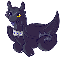 HTTYD: Seraphin by lulubellct
