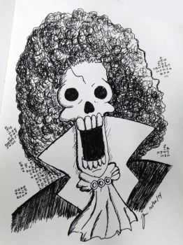 Inktober - Brook by jomzojeda