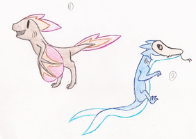 CLOSED Creature Adopt Batch 2 by TankerFishyGalAdopts