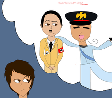 BFFs with Hitler (HoO) by lollimewirepirate