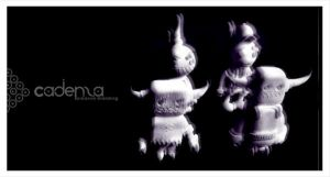 monsterism sculpey toys by iamcadence
