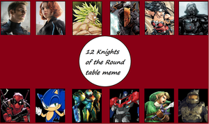 12 Knights Of The Round Table Meme: The Guardians by WOLFBLADE111