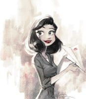 Paperman by alicexz