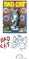 Awesome Game Covers: Bad Cat by RomanJones