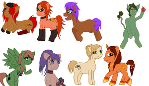 Pony requests batch one` by mysticalbadger