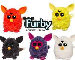 Furby 2012 wallpaper by Charganium