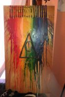 The Deathly Hallows by YourMomsMustache