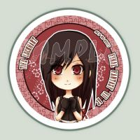 FINAL FANTASY VII Tifa button by Quiss