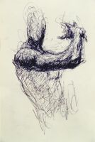 Figure with Bent Arm by DEREKoverfield