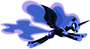 Nightmare Moon by imageconstructor