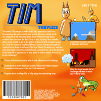 Tim the Flazo Mock-Up Box Back by korusan