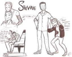 Shevine Doodles by ChibiGuardianAngel