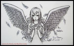 Angel -with Feathers Tutorial- by RedStar-Sama