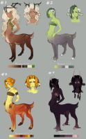 ADOPT Forest Spirits Auction - CLOSE- by WingOfWind