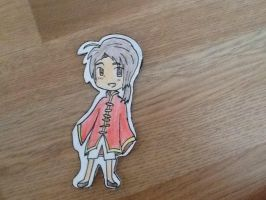 APH Hetalia - China (Yao Wang) Bookmark by pretzelpie