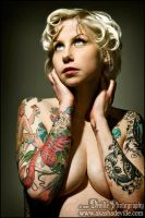 Tattooed Mom by DevillePhotography