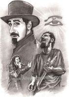 Serj Tankian by Alleycatsgarden