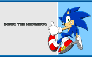 Sonic the hedgehog wallpaper by Hinata70756