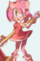Amy Rose by Chalkolatte