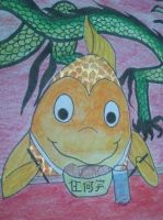 goldfish in detail :) by sweeu