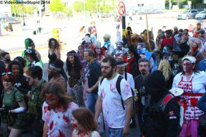 Boston Zombie March 2014 - Zombie March 06 by VideoGameStupid