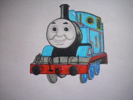 Thomas The Tank Engine by Ulla-Andy
